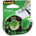 SCOTCH dévidoir ruban - adhésif - magic 810 invisible 19 mm x 7,5 m