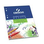 CANSON FEUILLET MOBILE PERFORE C A GRAIN UNI A4 (21X29.7) 100 PAGES 90G