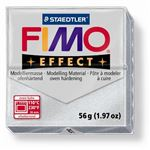 Fimo effect 56g argent metallique