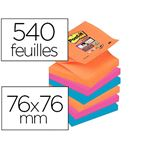 POST-IT super notes z notes electric glow 76x76