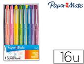PAPERMATE POCHETTE 16 FLAIR TROPICAL POINTE MOYENNE