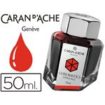 CARAN D'ACHE - recharge encre stylo plume - rouge infrarouge