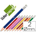LIDERPAPEL - porte mine - fun 2 mm couleurs assorties