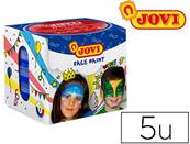 Maquillage jovi face paint creme de 20ml couleurs assorties - etui de 5 galets