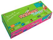 COFFRET DE JEUX FUZOMINO NATURE 28 DOMINOS 1 CRAYON SONORE 1 CABLE USB