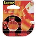 SCOTCH dévidoir de ruban - adhésif - cristal transparent 19 mm x7,5 m